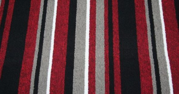 Best Details About Red Black Stripe Carpet Quality Berber Any 400 x 300