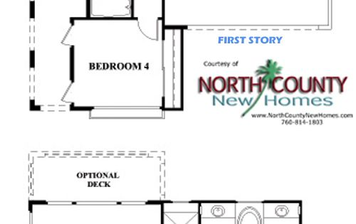 New single and two story homes for sale in carlsbad at for Single floor homes for sale
