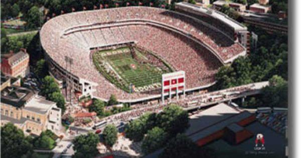 University Of Georgia Sanford Stadium Sanford Stadium University Of Georgia Georgia Bulldogs