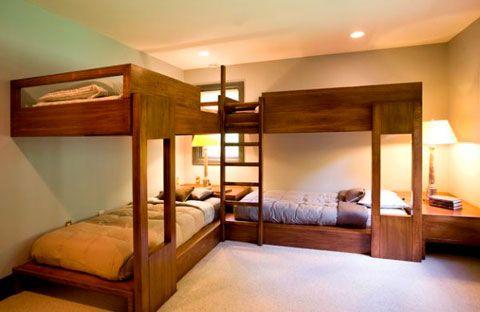 Literas de madera para adultos habitaci n simple - Litera para adultos ...
