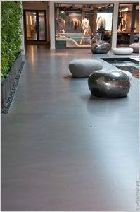 Weber Floor 4650 Enduit Colore Pour Des Sols Decoratifs Mineral Et Lisse Comme Un Marbre Sans Fin Terrasse Beton Cire Carrelage Terrasse Exterieur Sol Terrasse