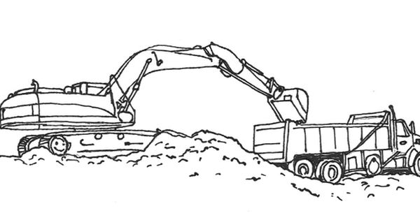 Printable Pictures Of Construction Equipment Col On Waterloo Construction Free Printable Construct Truck Coloring Pages Coloring Pages Tractor Coloring Pages