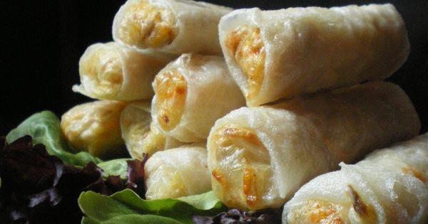 Nems au poulet cuisine asiatique pinterest toulouse - Cuisine asiatique facile ...