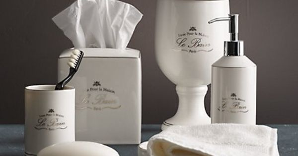Bathroom Accessories French Inspired Decorating