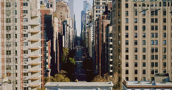 Fifth Avenue, NY, as seen looking north, from the Aashington Square Arch,