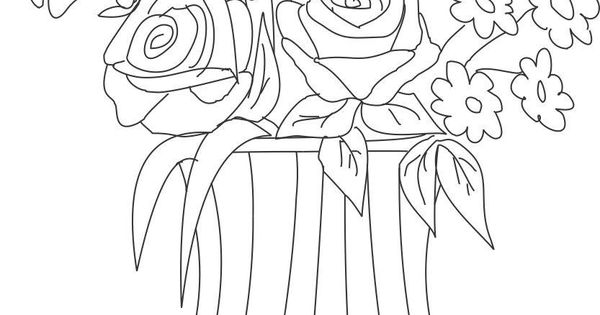 printable clay pot coloring pages - photo#39