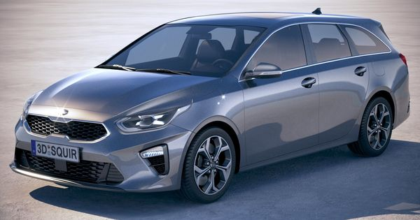 High Detailed Model Created By Squir Team In 2020 Kia Ceed Kia Bmw Models