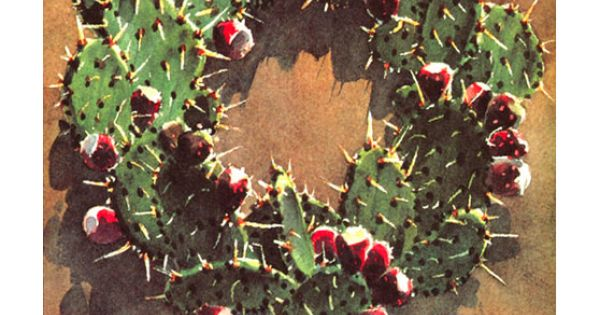 Christmas Cactus Wreath Frost Bros By Brad Braune