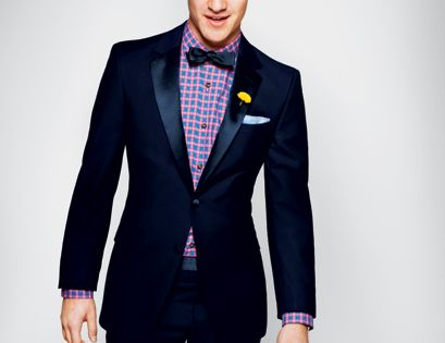 DARRENCRISS Midnight Blue Tuxedo