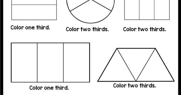 Fractions Printables Fractions Worksheets Worksheets