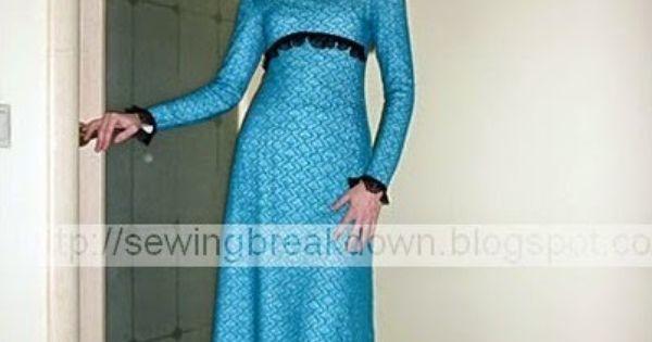 خياطة و تفصيل خياطة فستان بالصور خطوة بخطوة Long Sleeve Dress Dresses Sewing Dresses