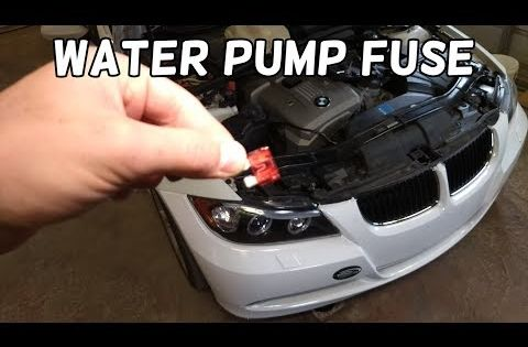 11 Coolant Water Pump Fuse Location And Replacement Bmw E90 E91 E92 E93 Bmw Overheating Youtube Water Pumps Automotive Repair Bmw