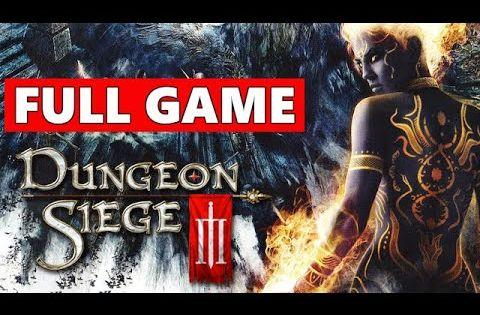 Dungeon Siege 3 Full Walkthrough Gameplay No Commentary Pc Longplay Gameplay In 2021 Gameplay Dungeon Full Games