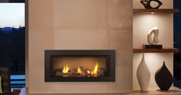 zero clearance gas fireplace - Google Search - Modern ...