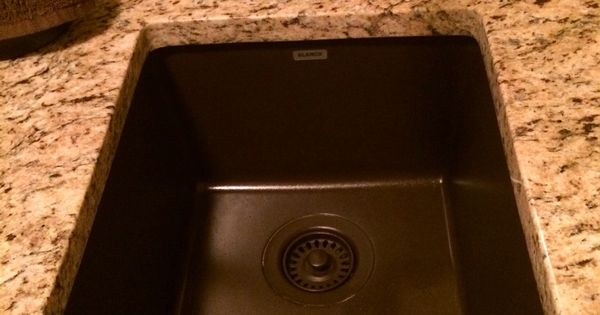 Crushed Granite Sink : Granite sink in laundry room, we have this same color sink (just a ...
