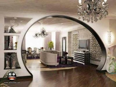 Latest Pop Arches Designs For Living Rooms Pop Design For Hall Walls 2019 Living Room Partition Design Room Partition Designs Living Room Partition
