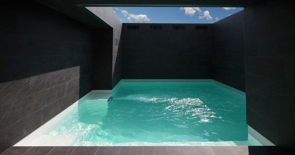 casa a morchiuso in erba, italy by marco castelletti. architecture design swimmingpool