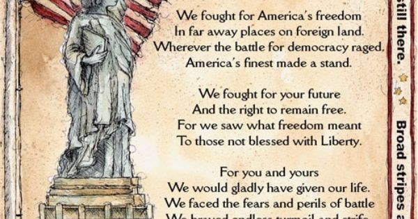memorial day poem first grade