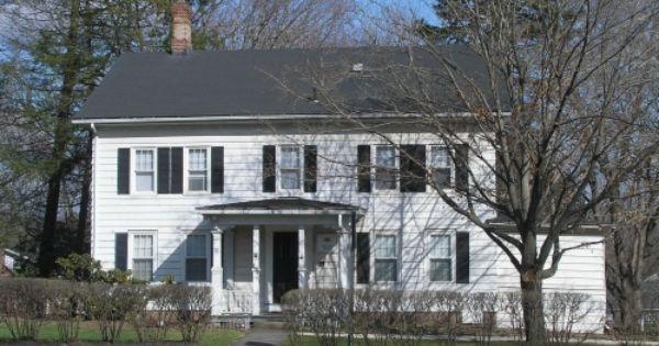 Adding A Porch To A Saltbox House Google Search Front Porch Design House Exterior Saltbox Houses