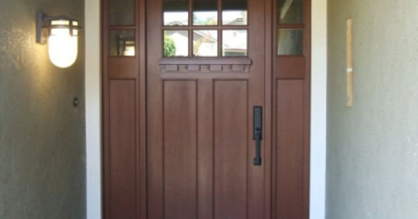 Plastpro Craftsman Fiberglass Entry Door Front Door Mailbox And Porch Pinterest