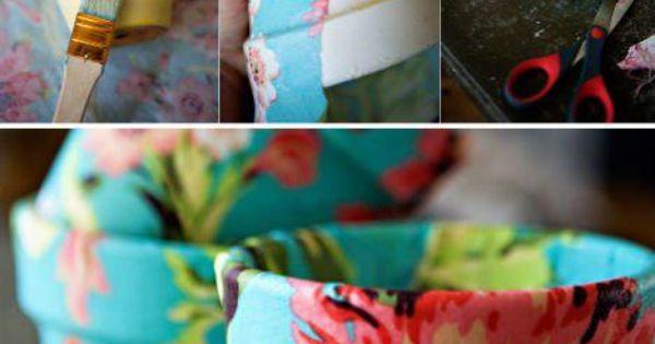 Bloempot Versieren Knutselen Pasen Pinterest