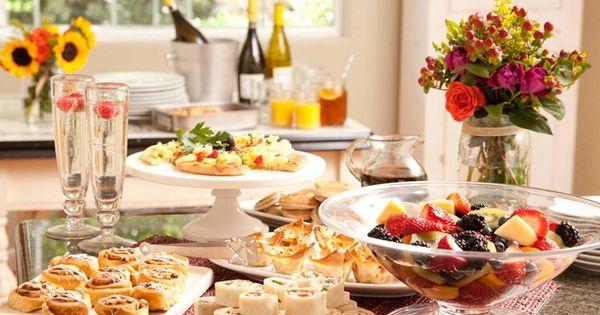 Pinterest Bridal Shower: Food Ideas For Brunch Bridal Shower