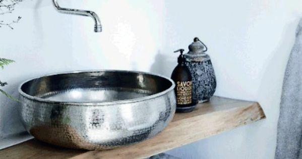 designer waschbecken rund silber orientalisch marokkanisches design taoofsophia badezimmer. Black Bedroom Furniture Sets. Home Design Ideas