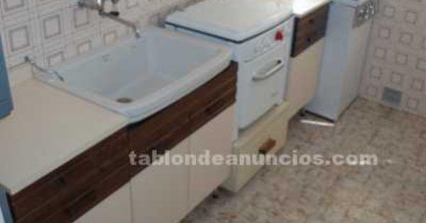 Conjunto cocina gas butano orbegozo muebles bajos forlady for Muebles de cocina anos 80