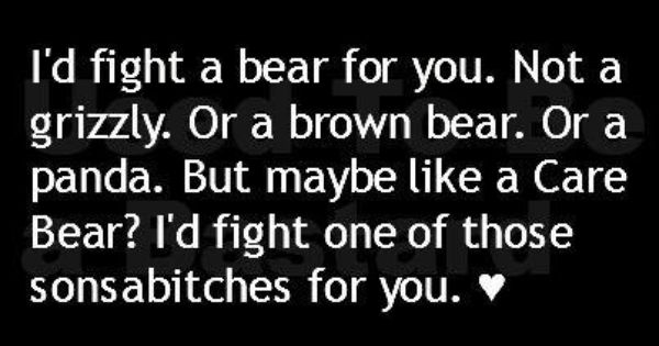 The thing is tho....I like LOVE care bears sooooo, sorry haha c;