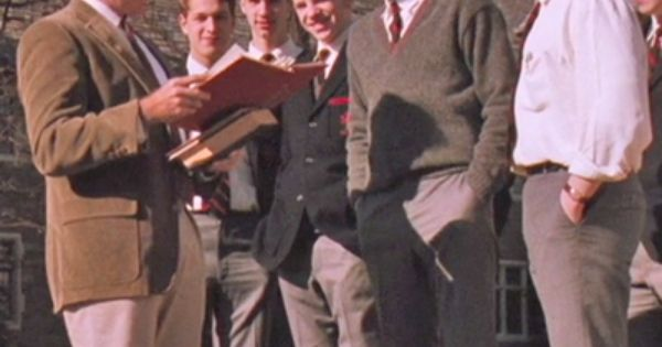 an analysis of characters in dead poets society by tom schulman Tom schulman has adapted his 'dead poets society' headed for off-broadway stage is seizing the day by lining up the world-premiere theatrical adaptation of.