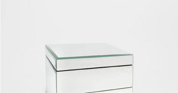 Caixa porta joias espelho caixas decora o zara home - Zara home portugal ...