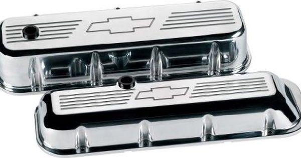 Billet Specialties Bbc Polished Bowtie Short Valve Covers P N