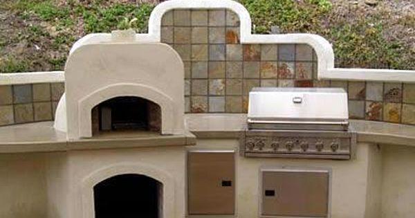 Pizza Oven Outdoor Kitchens Concepts In Concrete Const Inc San Diego Ca With Images Pizza Oven Outdoor Kitchen Outdoor Kitchen Countertops Outdoor Living Kitchen
