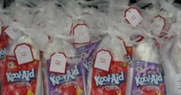 "Homemade ""play doh kits"". Great for party favors, graduation treats, or just"