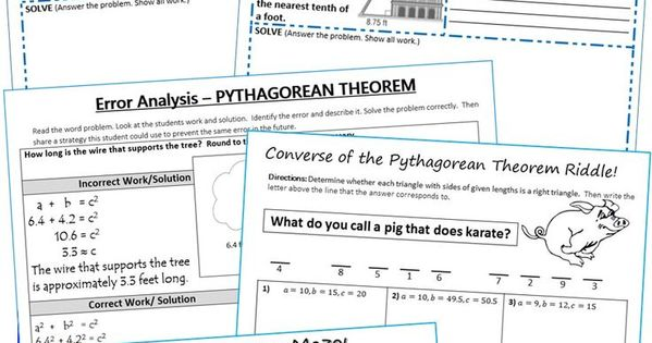 an analysis of pythagorean theorem Now, he is best known for his pythagorean theorem and pythagorean triples question - pythagoras' rule with squares on three sides here is a right triangle with sides of 3, 4 and 5.