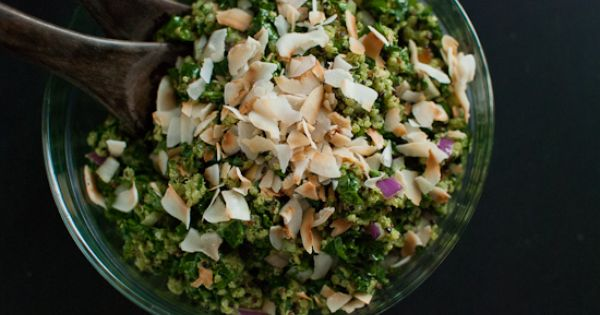 Phase 3 Coconut Quinoa and Kale with Tropical Pesto - coconut and