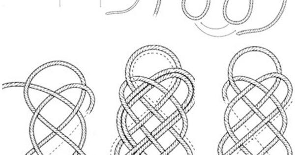 fussmatte knoten seil selber machen anleitung design schmuck co pinterest basteln und design. Black Bedroom Furniture Sets. Home Design Ideas