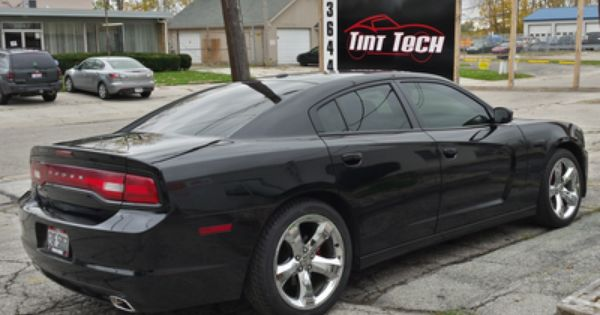 Dodge Charger With 15 Window Tint Dodge Charger Tints Tinted