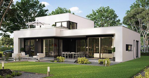 architekten haus casaretto b denbender hausbau bungalow living pinterest hausbau. Black Bedroom Furniture Sets. Home Design Ideas
