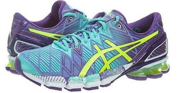 Asics Gel Kinsei 5 Womens T3e9y 2804 Purple Mint Yellow Running