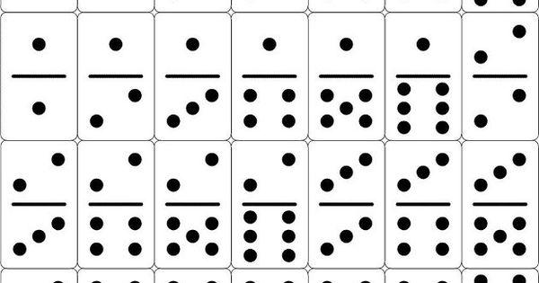 Fichas de domino para imprimir imagui domino for Fichas de domino