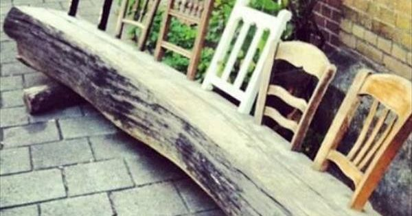 Quirky & fun!! great DYI with a large piece of reclaimed wood...10