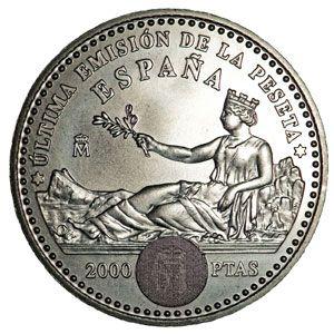 Monedas De 2000 Pesetas En Plata Tienda Numismatica Y Filatelia Lopez Compra Venta De Monedas Oro Y Plata Sellos Esp Monedas Monedas De Plata Monedas De Oro