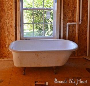 Restoring Clawfoot Tub With Images Clawfoot Tub Clawfoot Bathtub Remodel