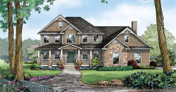 The Maryland C House Plan For Gainesville Ga House Plans Custom Home Plans Home Builders