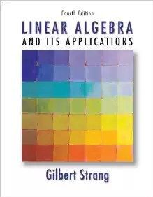 Download Pdf Of Linear Algebra And Its Applications 4th Edition