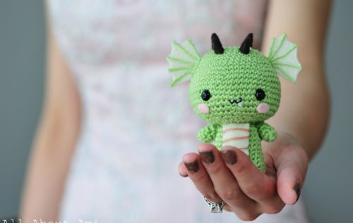 baby dragon crochet pattern