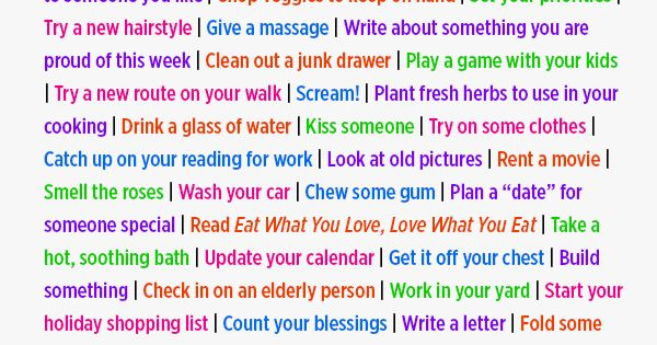 100 Things You Can Do Instead of Eating Mindlessly | Women's Health