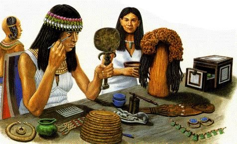 A Brief History Of Skin Care Cosmetics Part 1 Ancient Times Barefacedtruth Com Egyptian Makeup Egyptian Women History Of Cosmetics