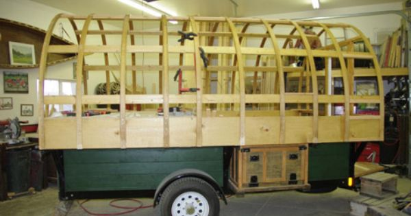 Sheep wagons converted into mobile living spaces of rustic charm construction design and charms - The mobile shepherds wagon ...
